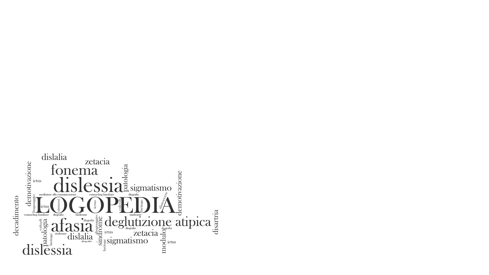 Valentina Semeraro Logopedia - Slide home parte 1